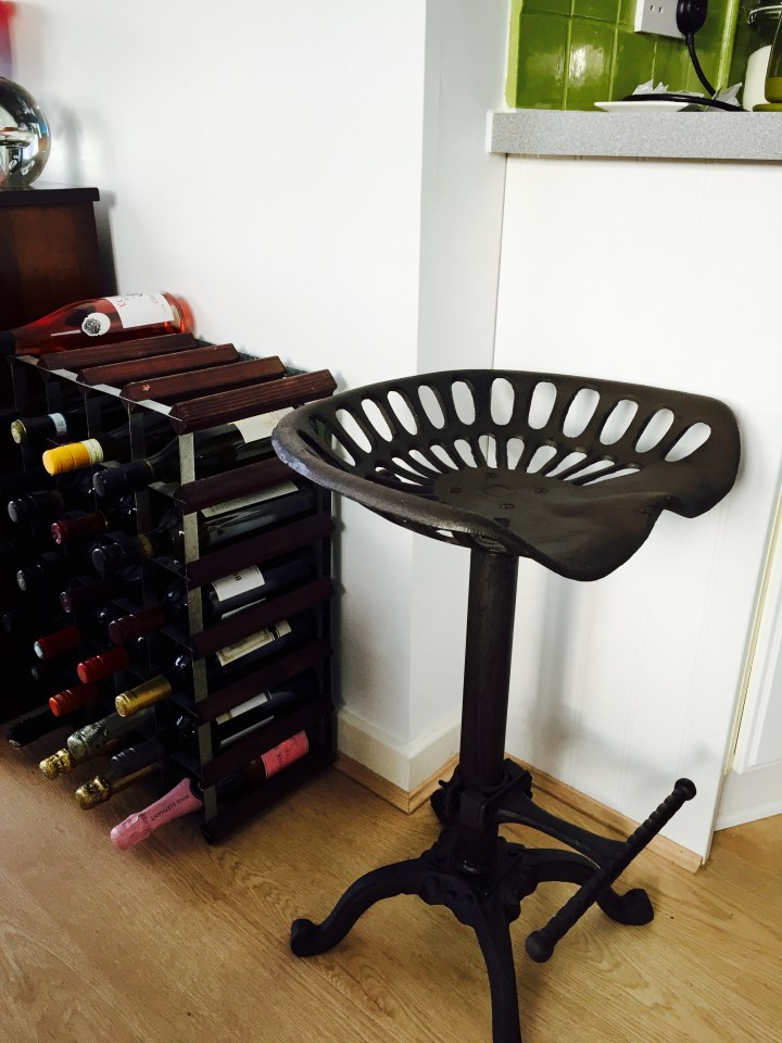 The Perfect Kitchen Stool