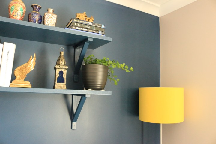 How I revamped a lampshade with Chalk Paint