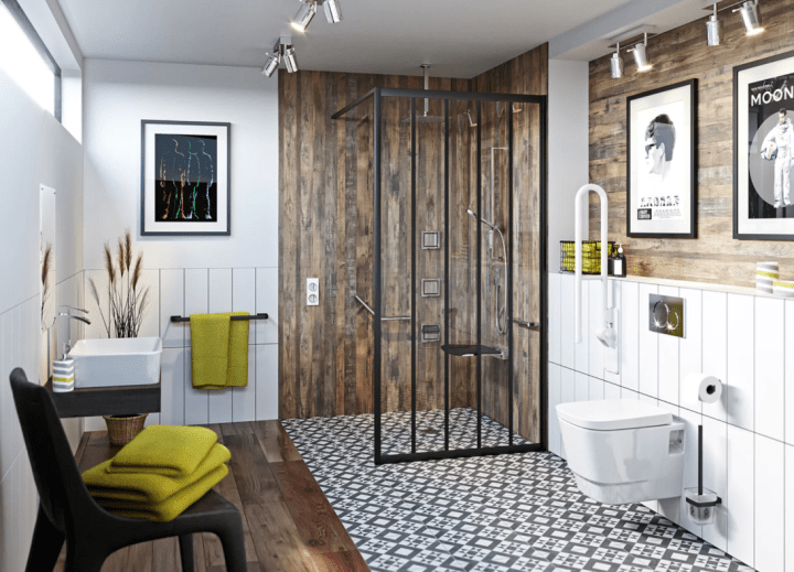 How to plan an accessible bathroom with VictoriaPlum.com