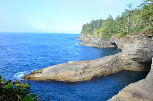 View out from Cape Flattery