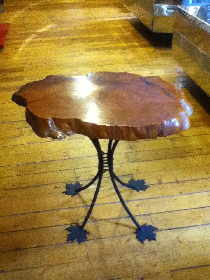 Maple Foot Table