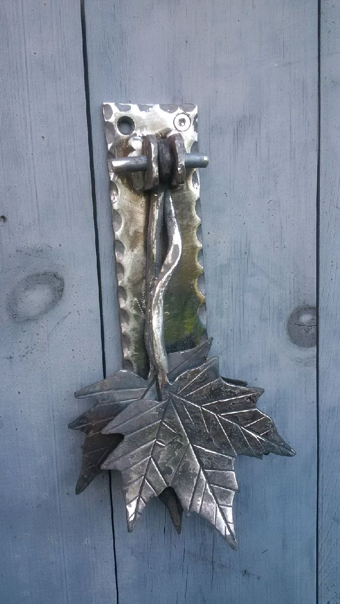 Maple Leaf Door Knocker