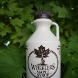 1 Litre Wheelers Maple Syrup