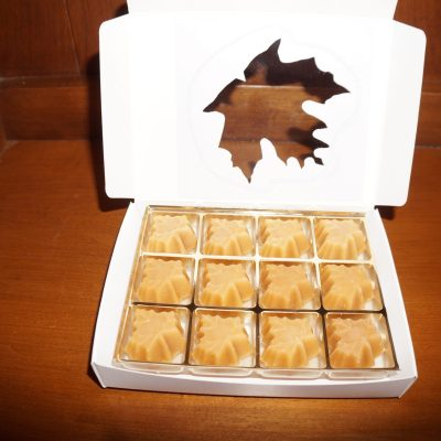 12 piece organic maple sugar