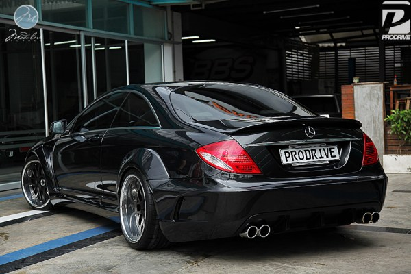 "MBZ CL W216 + Prior Design widebody | 20"" Modulare M14B ..."