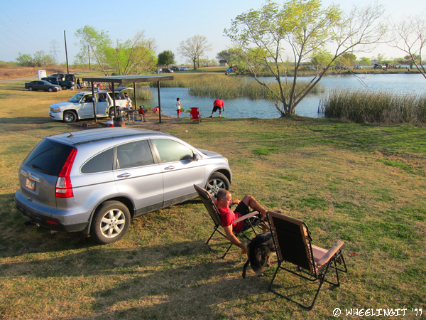 Boondocking Site Review Calaveras Lake San Antonio Tx