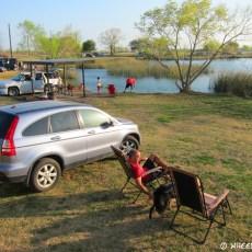 Boondocking Site Review – Calaveras Lake, San Antonio, TX