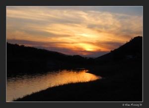 Sunset at Emigrant Lake