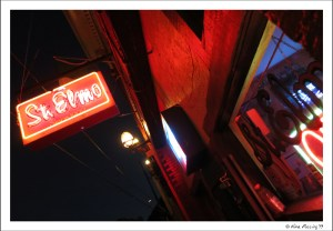 The notorious St.Elmos Bar
