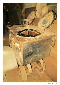 Can you figure out what this cart was used for in the mine?