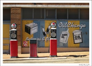 Old gas stop on Erie Street