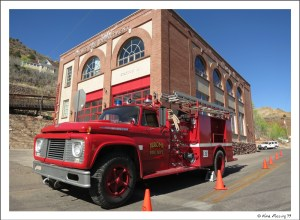 The old Fire Station at Jerome