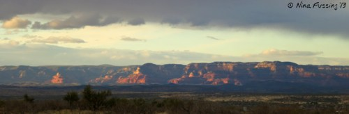 Red rock views from our boondocking site