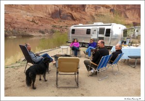 Hanging with our RV buddies at Goose BLM Campground
