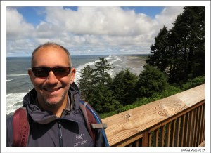 View of Long Beach from Bell's View at Cape Disappointment