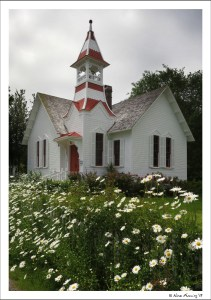 The lovely church at Oysterville