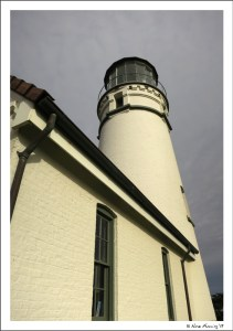 She's a fine lady, our lighthouse