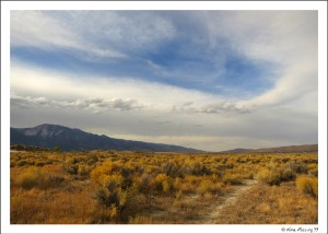 Inviting trails at Washoe Lake State Park