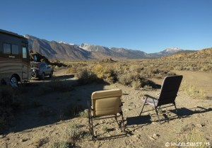 """View of our """"sitting area"""". Very pleasant once we were squeezed in."""
