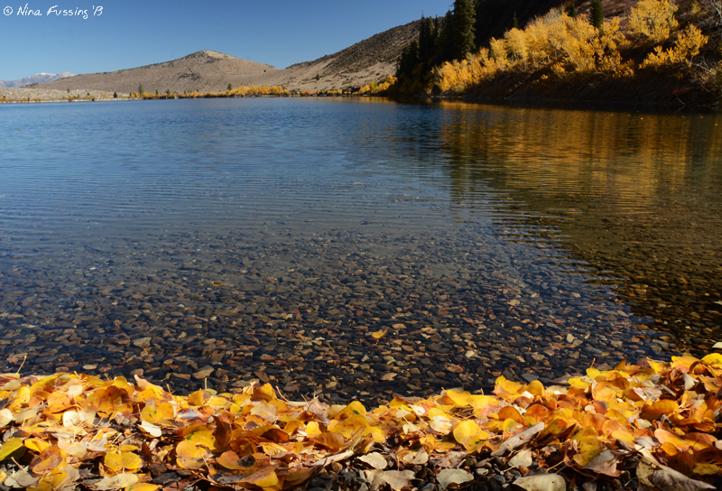 The clear and gorgeous Convict Lake
