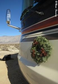 "A wreath adorns ""the beast"""