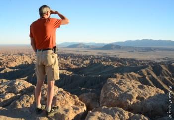Ivan scans the horizon