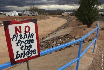 Dark weather threatens the fishing bridge :)
