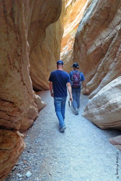 Paul & Brian hike into the narrows