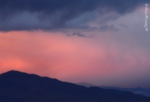 Soon these desert sunsets will be a winter memory...