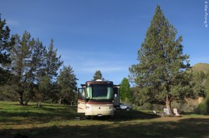 Our sweet new boondocking spot