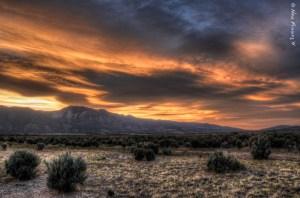 One last Nevada sunset