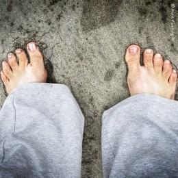 Ahhhhhh.....feet in the sand!