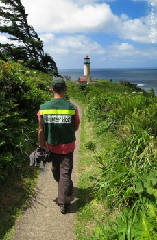 Paul and I have volunteered at lighthouses for years