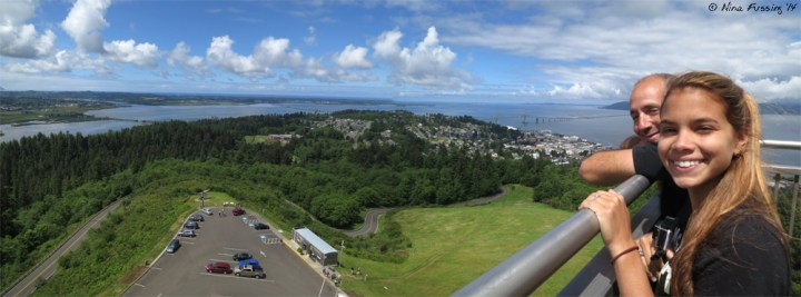 Panorama from the Astoria Column