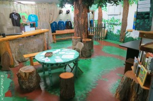 The activity room at the Learning Center
