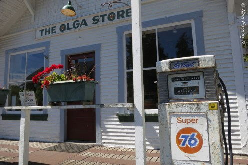 The old (now shut) store at Olga
