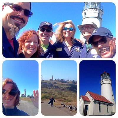 Cherie put together this great collage of our last shift together at the lighthouse. Photo Credit: Technomadia
