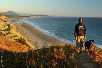 View of wild Cape Blanco