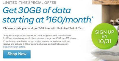 The new limited-time AT&T offer