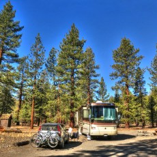Free Campsite Review – Glass Creek NFS Campground, Mammoth Lakes, CA
