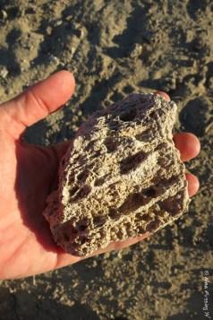 Calcium Carbonate tufa rock