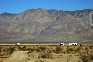 Good separation between rigs. That's the sign of good boondocking etiquette.