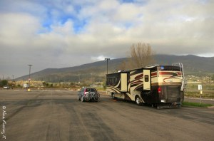 Our free 3-night parking spot at Viejas Casino