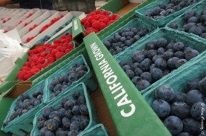 Fresh berries galore