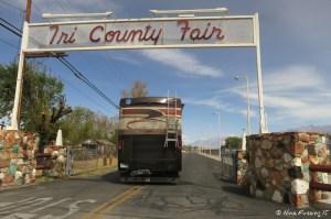 Entrance to Fairgounds off Sierra Road