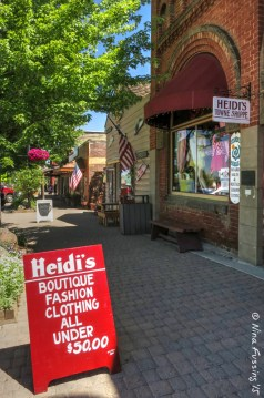 Cute downtown shops