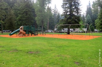 View of playground between C & E Loops
