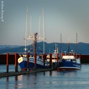 Astoria fishing boats