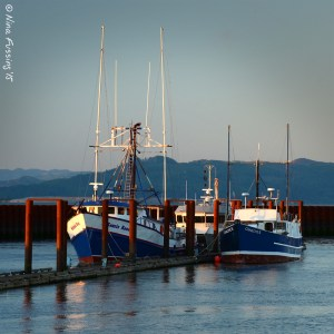Astoria fishing boats