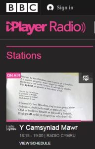 Welsh radio anyone?